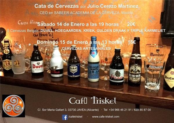 Cata de Cerveza 14Ene2017 600X400