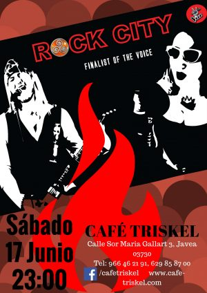 Rock City with Sandra Rodrigo 17June2017